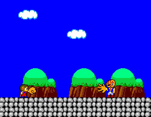 "Watch and share ""the Inevitable"" - Alex Kidd In Miracle World (Sega - Master System - 1986) GIFs on Gfycat"