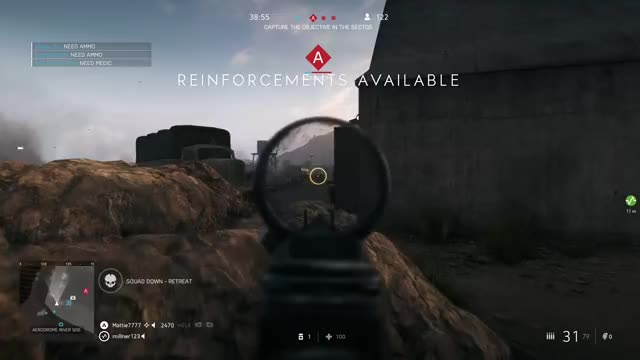 Watch this GIF by Xbox DVR (@xboxdvr) on Gfycat. Discover more BattlefieldV, Mattie7777, xbox, xbox dvr, xbox one GIFs on Gfycat