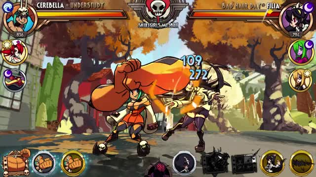 Watch and share Skullgirls GIFs and Cerebella GIFs by Skullgirls Mobile on Gfycat