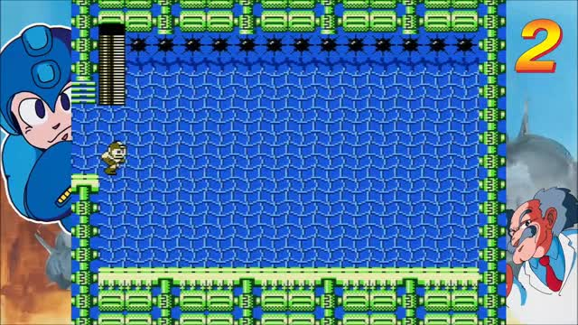 Watch and share Bubbleman GIFs and Mega Man GIFs by MikeFlame on Gfycat