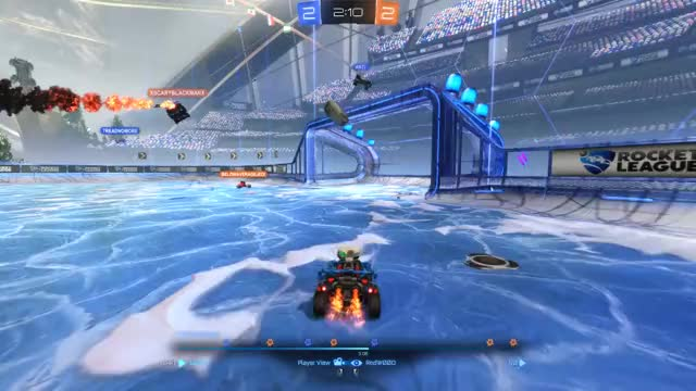 Watch and share Rocket League GIFs and Snow Day GIFs by redw00d on Gfycat