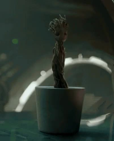 Watch and share Everlasting Groot GIFs by JT87 on Gfycat