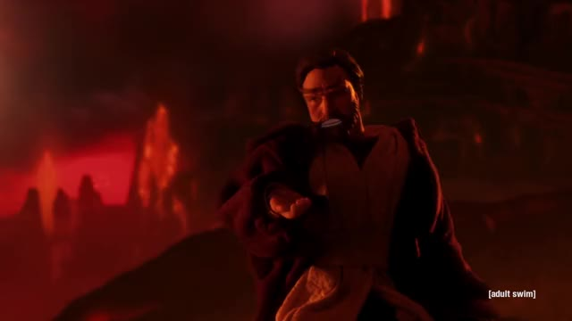 Obi Wan Takes The High Ground Gif By At Twomtimm Find Make