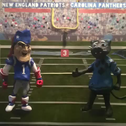 Watch and share Who Wins Tonight? Part 2 Of 2. Mashable #oldschoolgame #AllNaturalVines #stopmotion #claymation #FightLB GIFs by Daniel Baker on Gfycat
