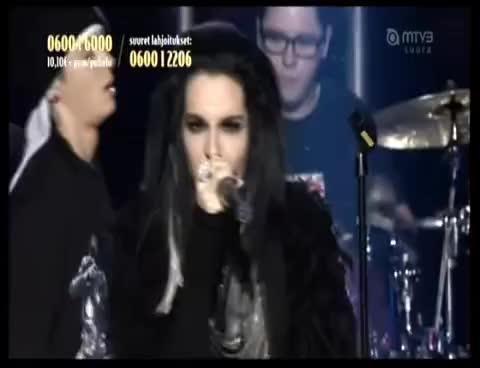 bill kaulitz, live, tokio hotel, Tokio Hotel Finland 2 GIFs