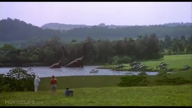 Watch and share Jurassic Park (1993) - Welcome To Jurassic Park Scene (1/10) | Movieclips GIFs on Gfycat