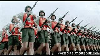 Watch and share Marching Army GIFs on Gfycat