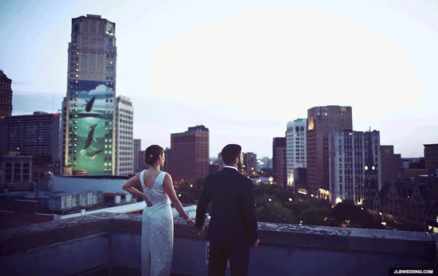 Watch and share Broderick Tower Detroit Wedding Dac GIFs on Gfycat