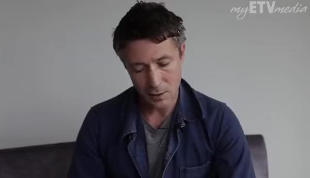 Watch and share Aidan Gillen GIFs and Interview GIFs on Gfycat