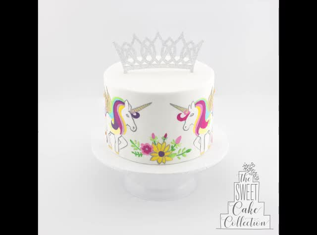 Watch and share The Sweet Cake Collection - Painted Unicorn Cake GIFs by sweetcakecollection on Gfycat