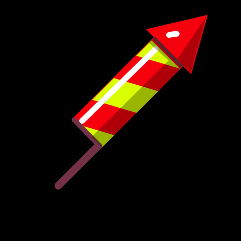 Celebration, celebrate, explode, firecracker, firework, fireworks, party, rocket, Firework Rocket GIFs