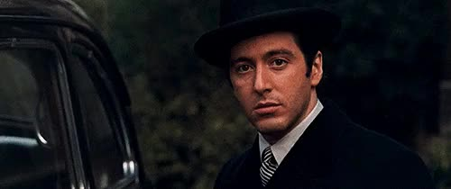 Watch and share Hollywood Couples GIFs and Michael Corleone GIFs on Gfycat