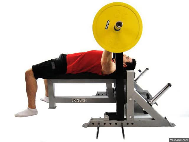 Watch and share Sale Commercial Body Iron Shoulder Saver Bench Press GIFs on Gfycat