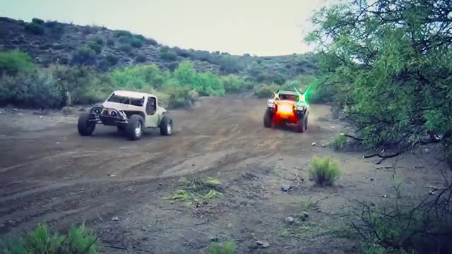 Watch and share Baja 1000 Off-Road Racing - Trophy Truck 2013 GIFs on Gfycat