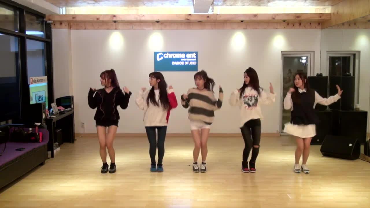 kpop, 두둠칫, 크레용팝, 크레용팝(crayonpop)_두둠칫(DooDoomChit)_안무영상(Choreography ver.) GIFs