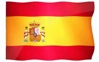 Watch and share Spain Flags On White Background. GIFs on Gfycat