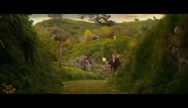 Watch Bilbo running GIF on Gfycat. Discover more A unexpected journey, Bilbo, Bilbo Baggins, The Hobbit GIFs on Gfycat