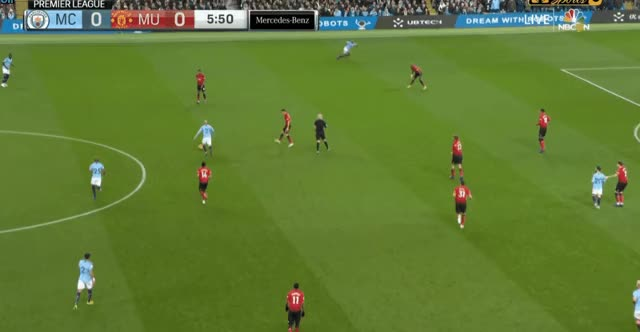 Watch and share David Silva Long Pass Vs Manchester United 18-19 GIFs by FIFPRO Stats on Gfycat