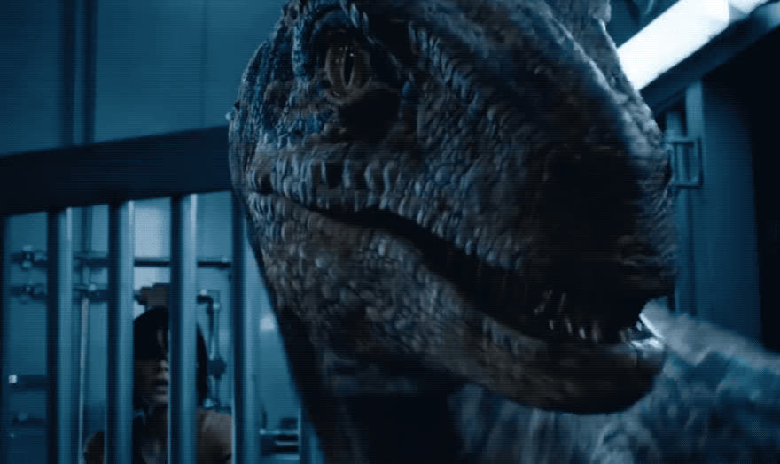 angry, annoyed, dino, dinosaur, disgust, ew, fallen, fight, furious, jurassic, kingdom, mad, movie, off, pissed, scary, show, teeth, trailer, world, Jurassic World - Fallen kingdom GIFs