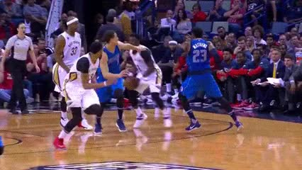Watch and share Anthony Davis — New Orleans Pelicans GIFs by Off-Hand on Gfycat