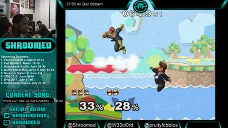 Watch and share Weedlord Walljump Waveland On Randall • R/smashgifs GIFs on Gfycat