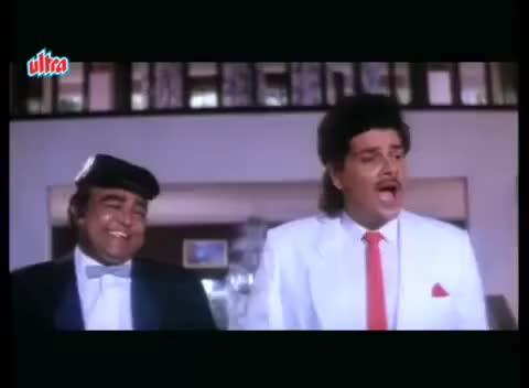 Watch and share Aamir Khan's Football Match - Andaz Apna Apna Comedy Scene Comedy Week GIFs on Gfycat
