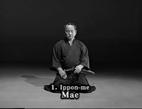 Watch Iaido Kata Seitei 01 Ippon-me - Mae - High quality - www.thesamuraiworkshop.com GIF on Gfycat. Discover more related GIFs on Gfycat