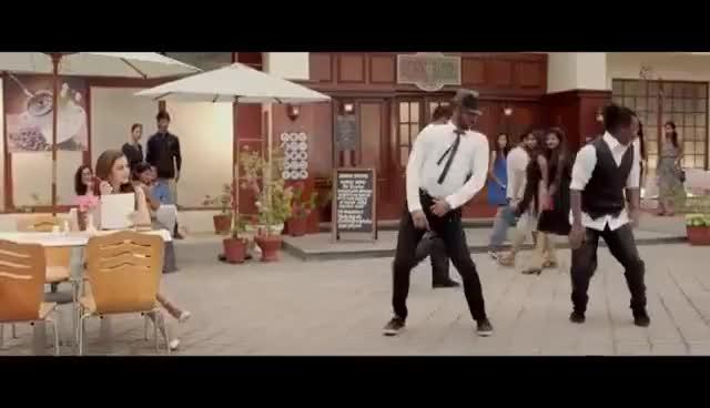 Watch and share Chalmaar - Devi   Official  Video Song   Prabhudeva, Tamannaah, Amy Jackson   Sajid-Wajid   Vijay GIFs on Gfycat