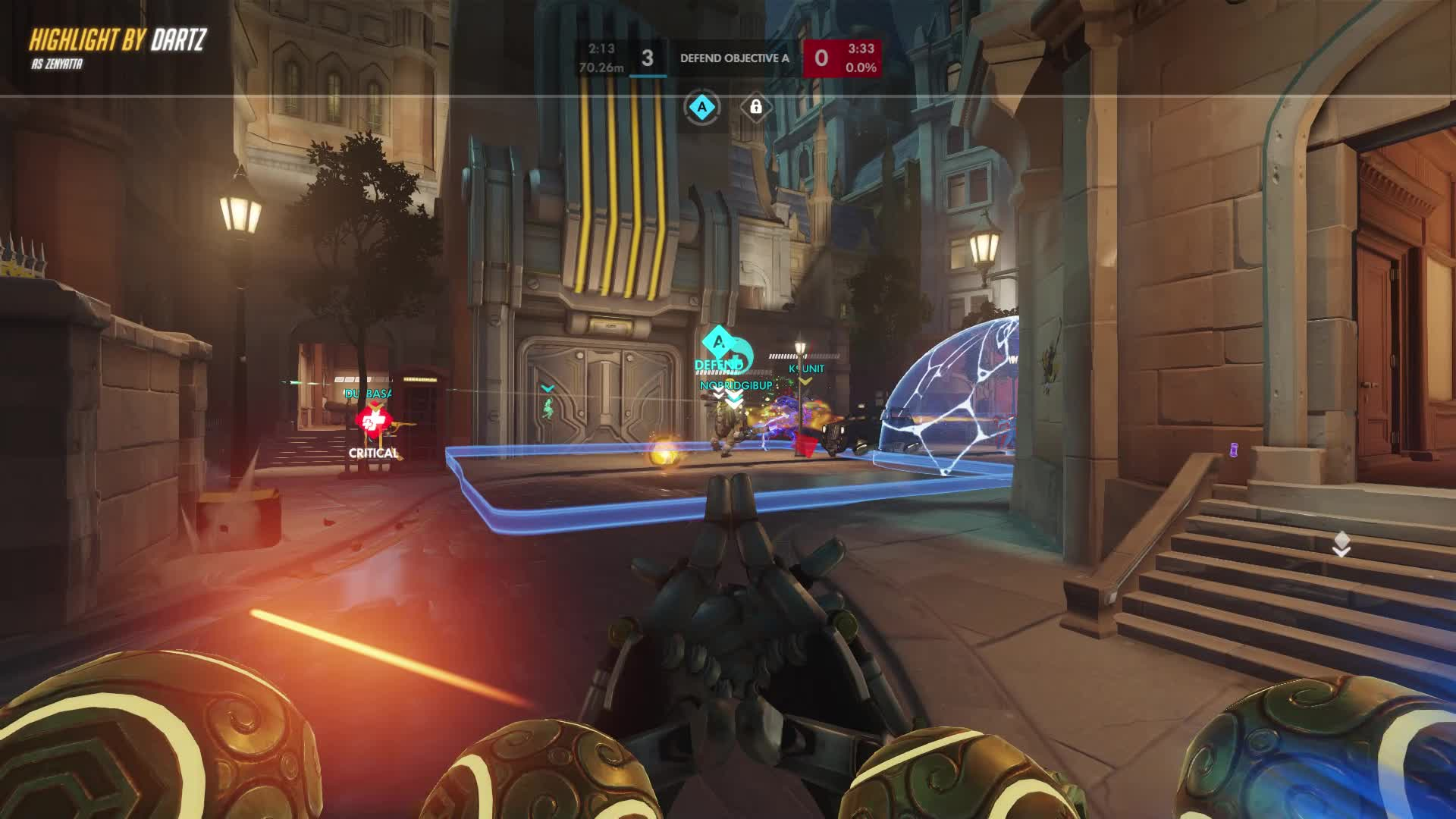 Overwatch, Zenyatta, Zen vs Soldier 76 GIFs