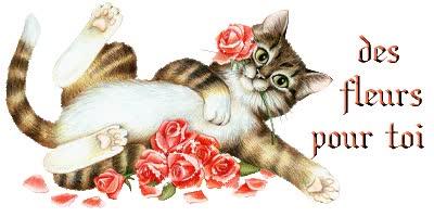 Watch and share Bonsoir, Voici Des Fleurs Pour Toi - Transparent - GIFs on Gfycat