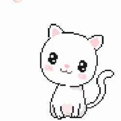 Watch and share Cat Kawaii GIFs on Gfycat
