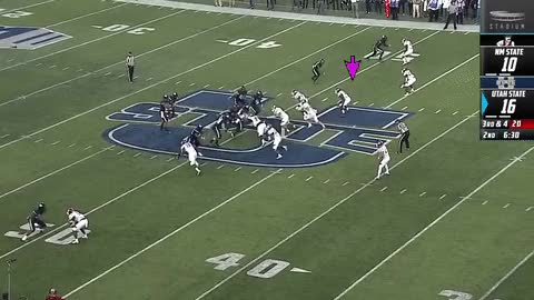 Watch and share Terrill Hanks New Mexico State LB 2 Vs Utah State 2018 (1) GIFs on Gfycat