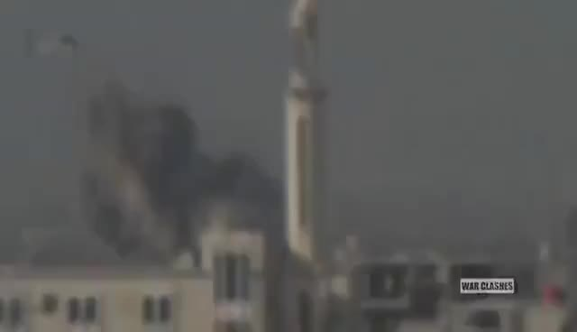 Watch HD Syrian Air Force Death From Above Airstrikes And Barrel Bombs Collection In Syria GIF on Gfycat. Discover more related GIFs on Gfycat
