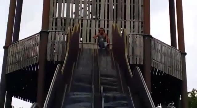 ANormalDayInRussia, Wellthatsucks, There Is a Reason The Slide Is Closed GIFs