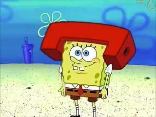 GIF Brewery, bob, bye, gif brewery, goodmorning, hallo, hello, hey, hi, hii, sponge, spongebob, spongebob squarepants, yo, Spongebob - Hi GIFs