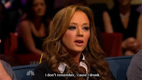 Watch and share Leah Remini GIFs and Drunk GIFs on Gfycat