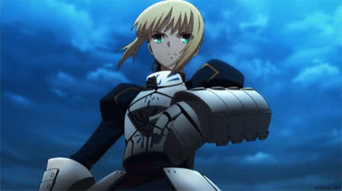 Fate, Saber, anime, animegif, animegifs, transform, Saber GIFs