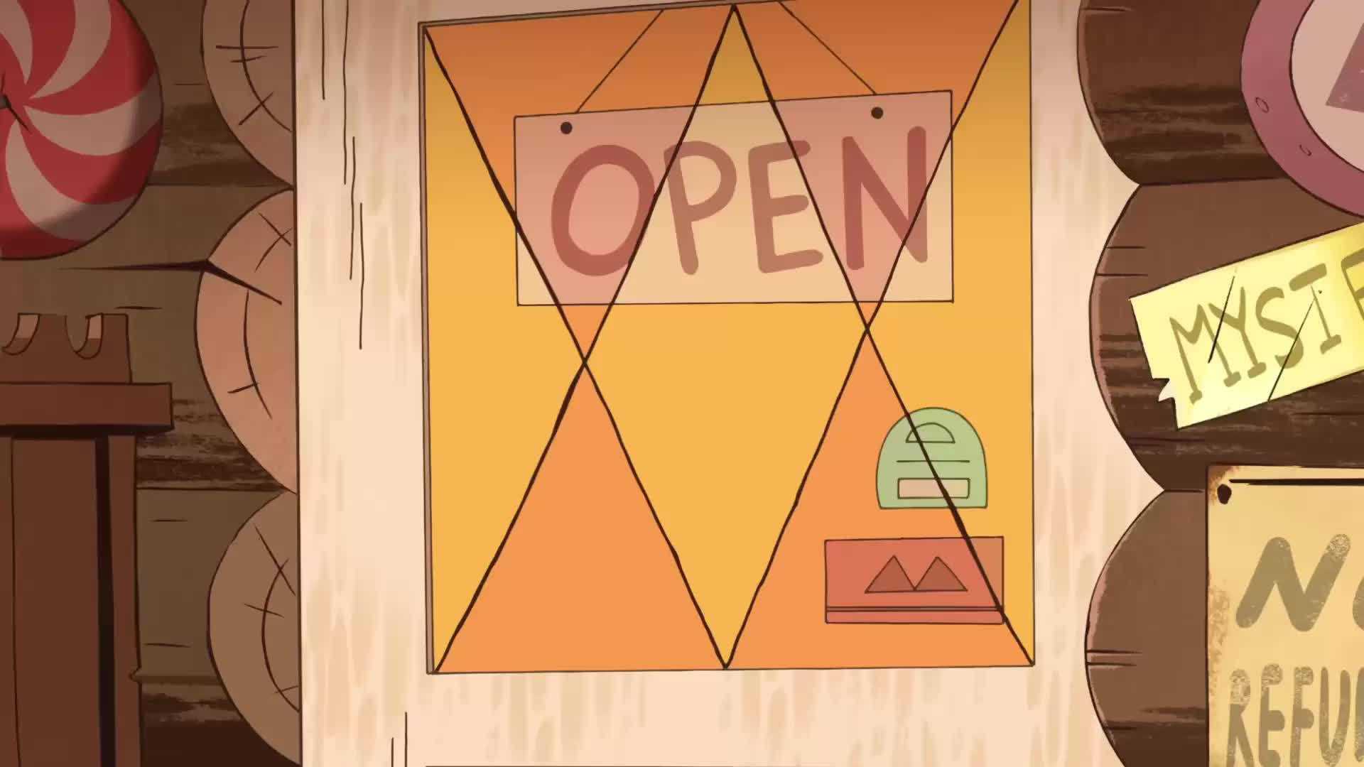 gravityfalls, When someone new finds their way here (reddit) GIFs