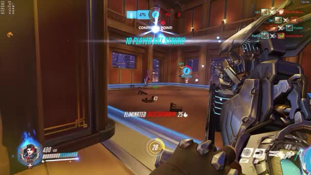 Overwatch general play of the game video