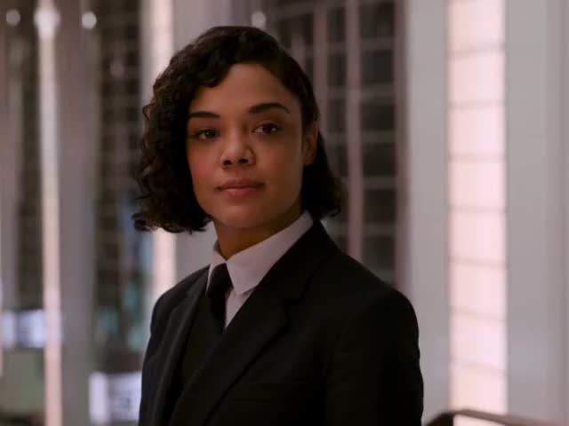 Watch and share Tessa Thompson GIFs and Men In Black GIFs by MikeyMo on Gfycat