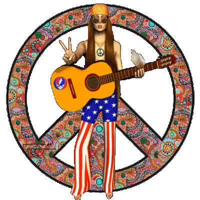 Watch and share Hippies animated stickers on Gfycat