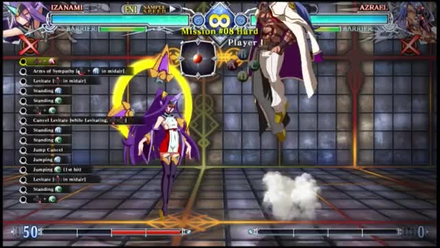 Watch and share BBCF: Izanami Hard 8 GIFs by snuffychris605 on Gfycat