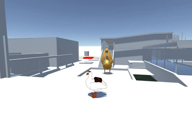 Watch Goose animations and controller! GIF on Gfycat. Discover more 3dmodeling, unity3d GIFs on Gfycat
