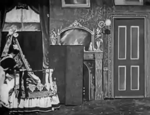 Watch and share Santa Claus (1898) The Visit Of Santa Claus [SILENT] GIFs on Gfycat