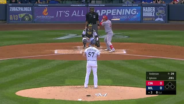 Watch and share Milwaukee Brewers GIFs and Cincinnati Reds GIFs by r_amore on Gfycat