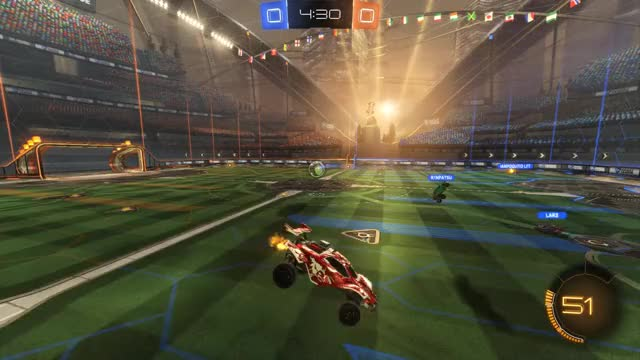 Watch Goal 1: IJ. GIF by Gif Your Game (@gifyourgame) on Gfycat. Discover more Gif Your Game, GifYourGame, Goal, IJ., Rocket League, RocketLeague GIFs on Gfycat