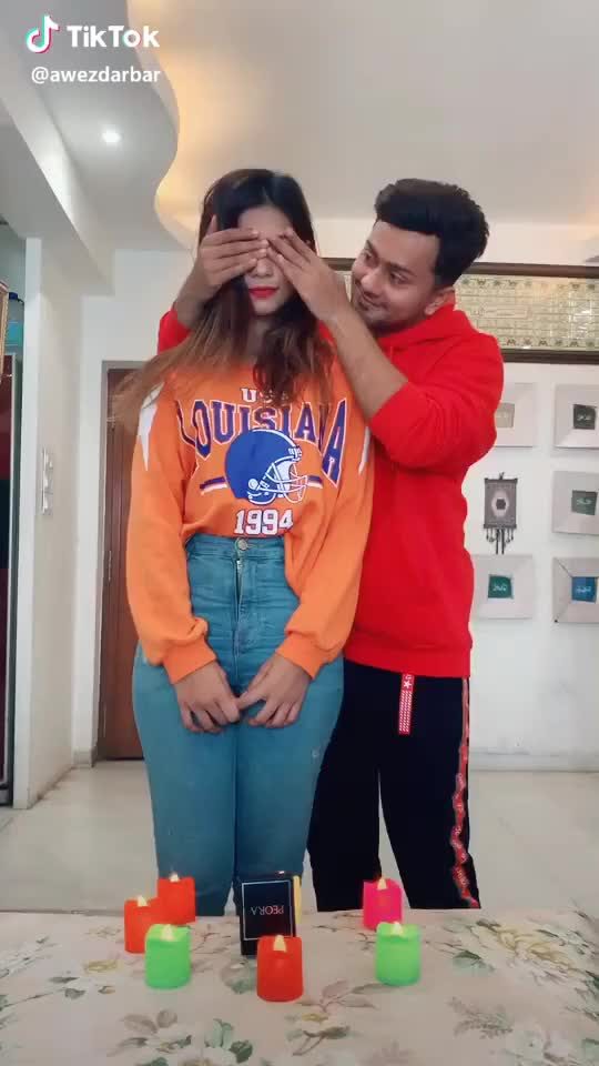 Watch Aaj toh bach gaya 😅 #15svines #comedy #couplegoals w/@nagmaa @funnyafaan (mommy) 👅 GIF by TikTok (@interestings) on Gfycat. Discover more comedy, couplegoals GIFs on Gfycat