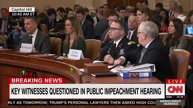 Watch and share Lt Col Alexander Vindman Corrects Devin Nunes GIFs by MarcusD on Gfycat