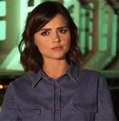 Watch and share Jenna Coleman GIFs and Doctor Who GIFs on Gfycat