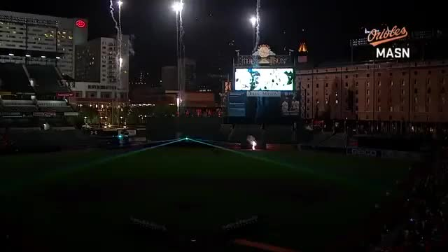 Watch and share Fireworks At Orioles 60th Anniversary Celebration GIFs by balsportsreport on Gfycat